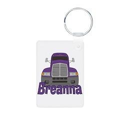 Trucker Breanna Keychains