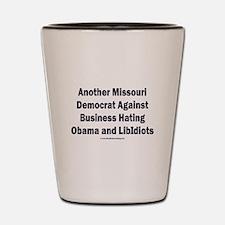 Missouri Democrat Shot Glass
