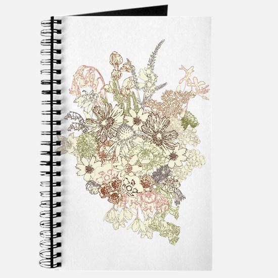 Wildflower Bouquet Journal