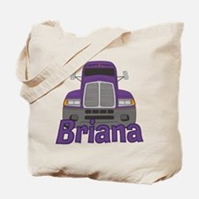 Trucker Briana Tote Bag