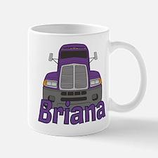 Trucker Briana Small Small Mug
