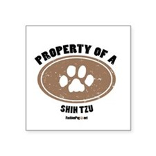 Shih Tzu Square Sticker