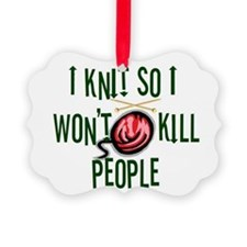 knitkills.jpg Picture Ornament