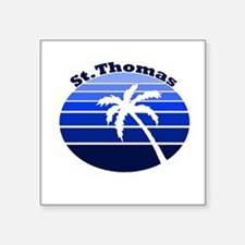 St. Thomas, USVI Square Sticker