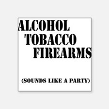 ATF Party Square Sticker