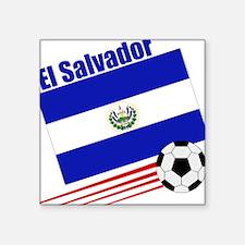 El Salvador Soccer Team Square Sticker