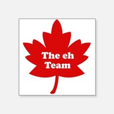 The eh Team Square Sticker