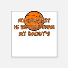 Bracket Daddy Square Sticker