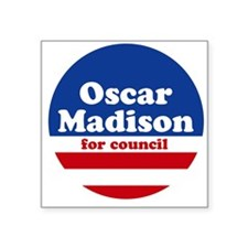 Madison for Council Square Sticker White