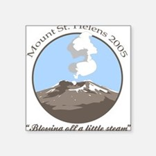 Mt Saint Helens 2005 Square Sticker