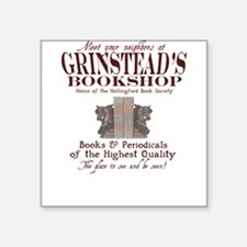 Grinstead's Bookshop Square Sticker