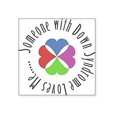 Down Syndrome Square Sticker