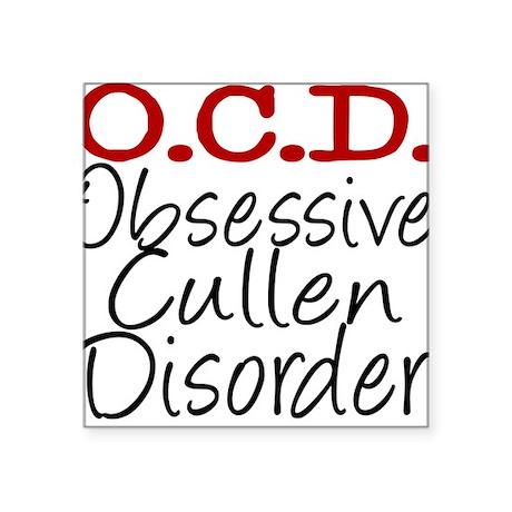 OCD Square Sticker