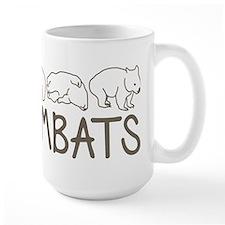 I Heart Wombats Ceramic Mugs