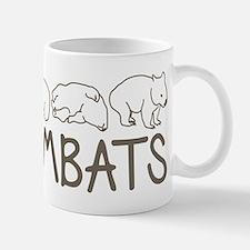 I Heart Wombats Mug