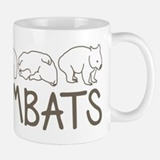 I Heart Wombats Small Mugs