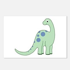 Happy Baby Dinosaur Postcards (Package of 8)