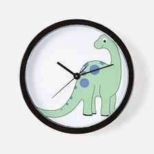 Happy Baby Dinosaur Wall Clock