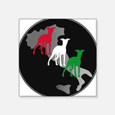 Very Italian Greyhound Square Sticker
