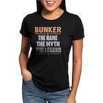Motorcycle Pilot Maternity Dark T-Shirt