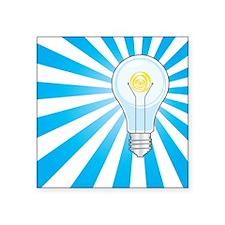 bright ideas Square Sticker
