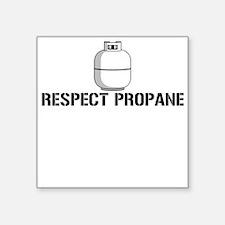 Respect Propane Square Sticker