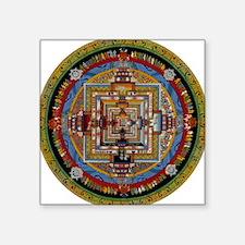 Kalachakra Square Sticker