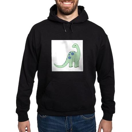 Happy Baby Dinosaur Smaller Hoodie (dark)