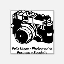 Felix Unger Photographer Square Sticker