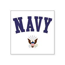 US NAVY Square Sticker