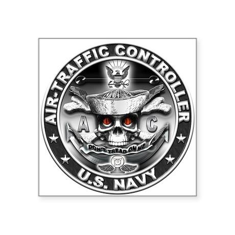 USN Air-Traffic Controller AC Square Sticker