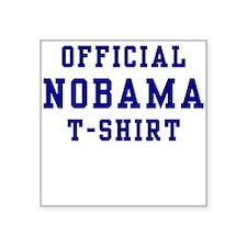 Official NOBAMA Square Sticker