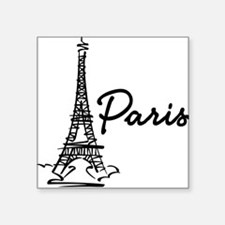 Paris Square Sticker