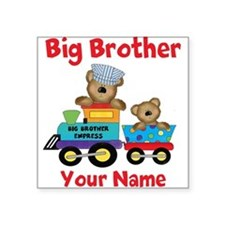 Big Brother Train Square Sticker