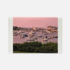 Wychmere Harbor Sunrise Rectangle Magnet