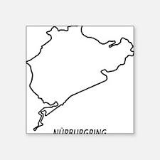 Nurburgring Square Sticker