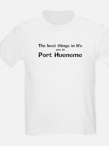 Port Hueneme: Best Things Kids T-Shirt