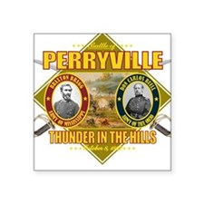 Battle of Perryville Square Sticker