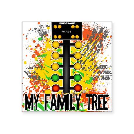 My Family Tree Square Sticker