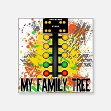 My Family Tree Square Sticker