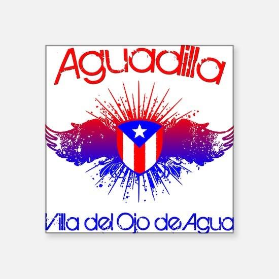 Aguadilla Square Sticker