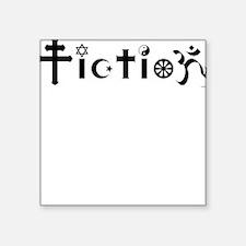 Fiction Square Sticker