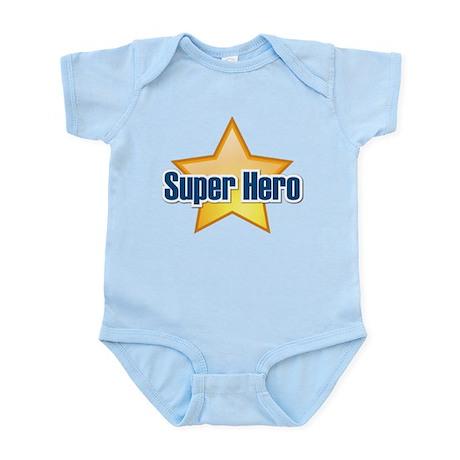 Super Hero Star Infant Bodysuit