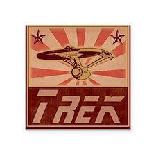 TREK Square Sticker