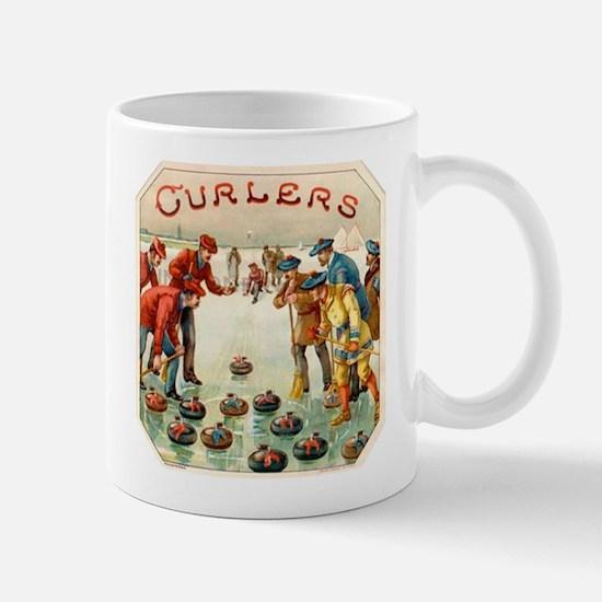 Curlers Label Mug Mug