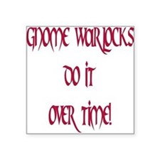 Warlocks Square Sticker