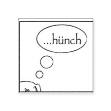 Hunch Square Sticker