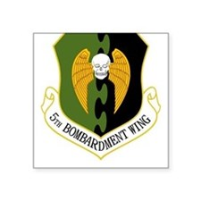 5th Bomb Wing Square Sticker