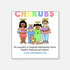 CHERUBS Logo - Pastel Square Sticker