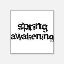 SPRING AWAKENING Square Sticker